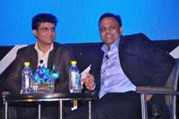 Sourav Ganguly & Mr. Arvind Gupta, National Head, Information and Technology of the Bharatiya Janata Party