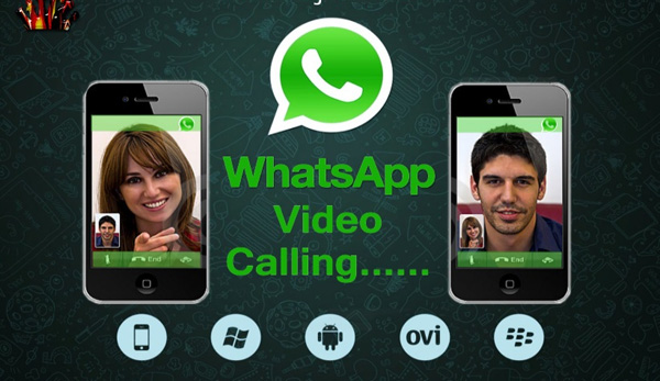 how to answer whatsapp video call