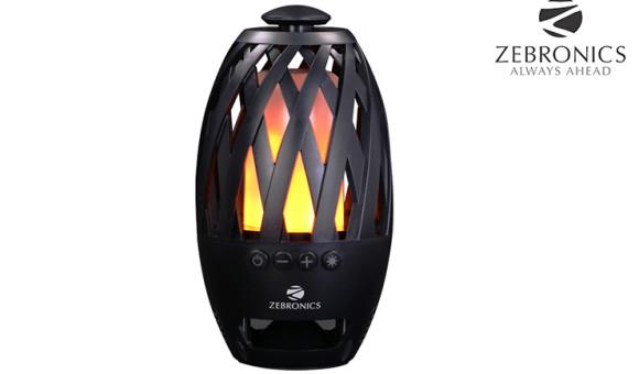 Zebronics 'Atom' Portable Speaker with LED Lights